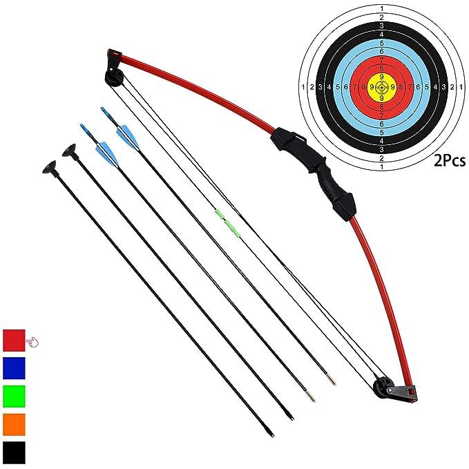 """5 opinioni per Funtress 35"""" Junior Arco Compound Archery Set con 4 frecce per Giovani Bambini"""