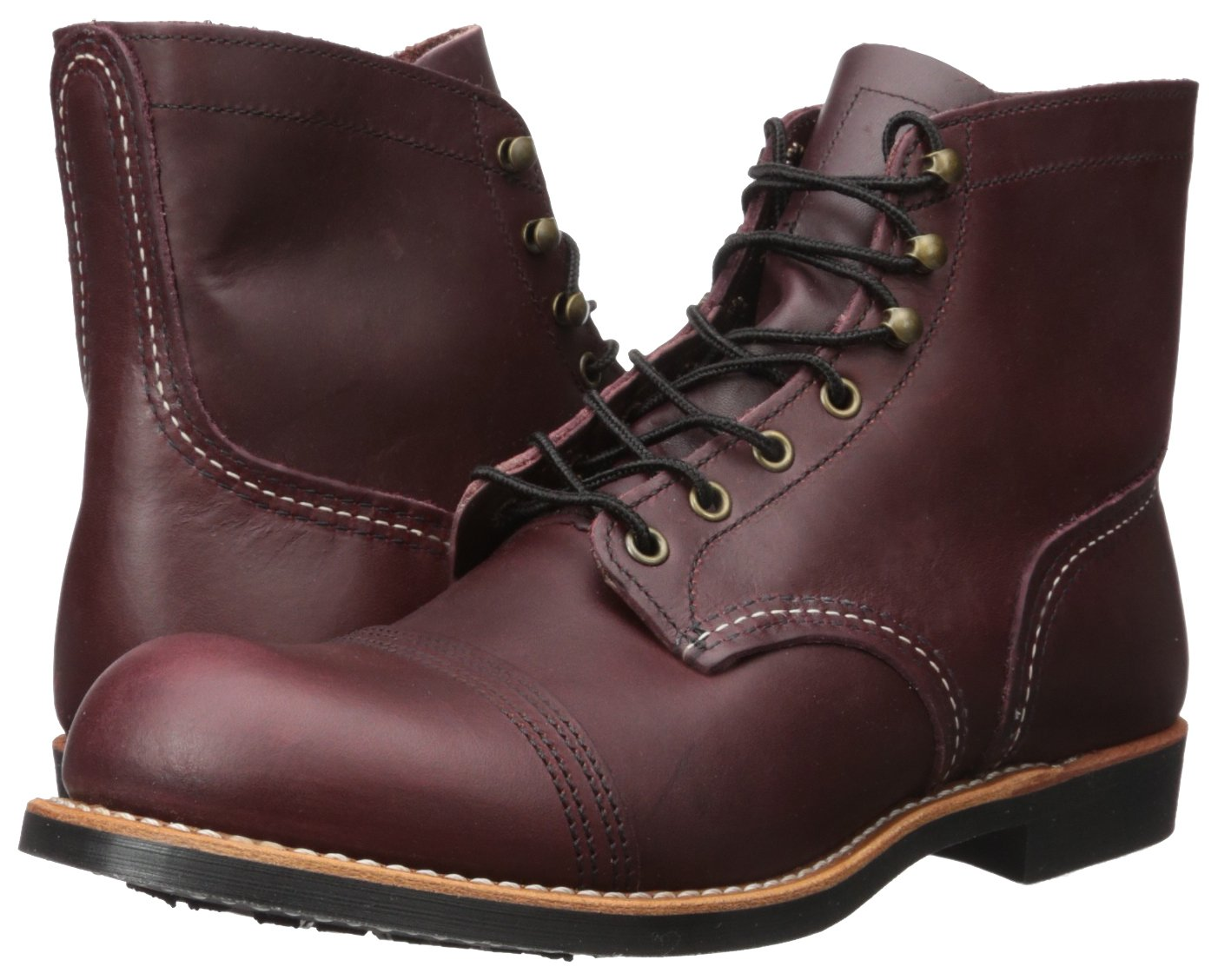 Red Wing Heritage Iron Ranger 6-Inch Boot, Oxblood Mesa, 8.5 D(M) US by Red Wing (Image #6)