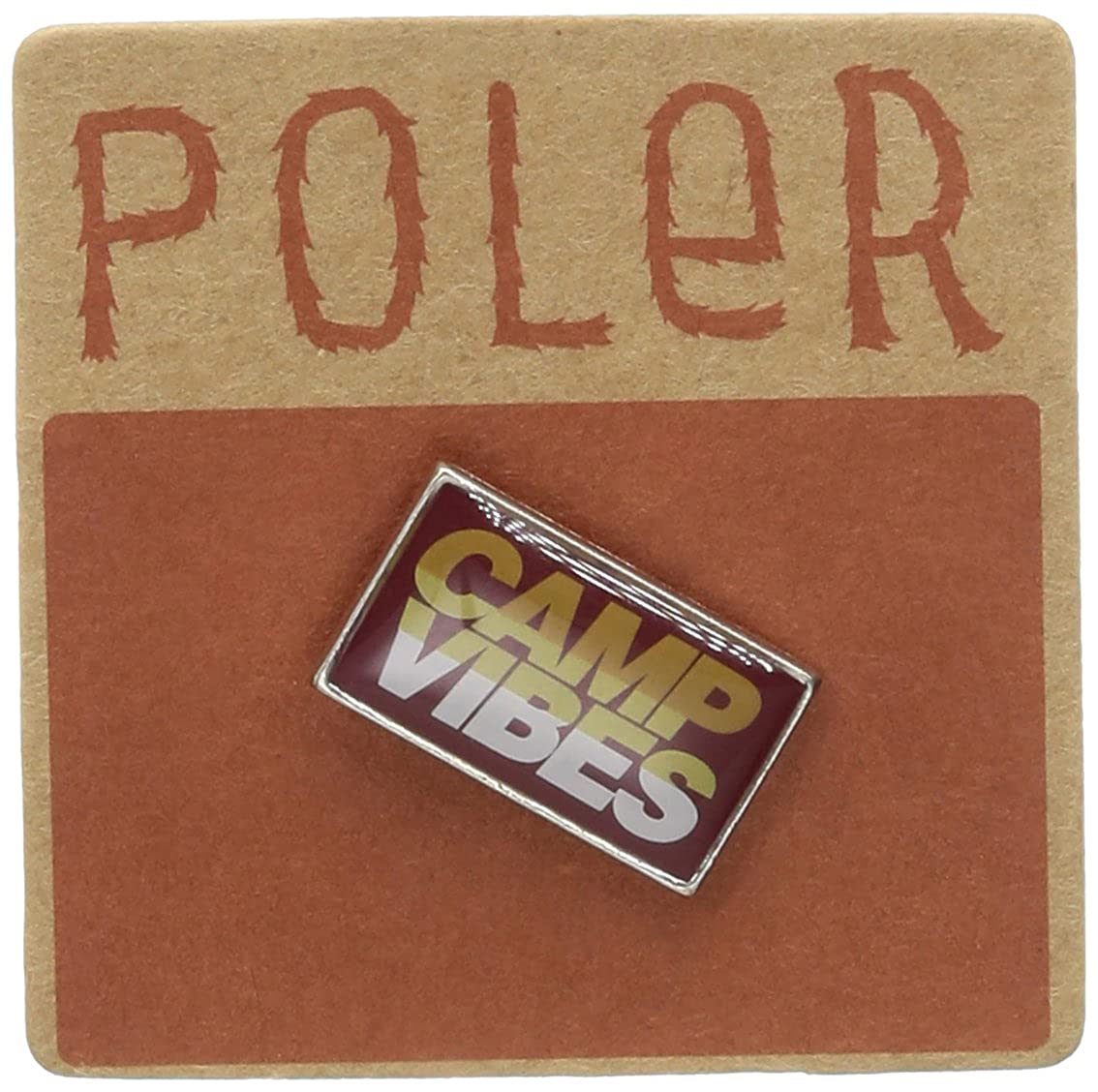 Poler Men's Camp Vibes Pin Multi One Size Poler Young Mens Child Code 706003