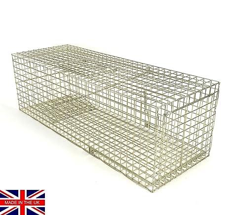 Feral Cat Trap trapman Feral estándar Cat trampa jaula civilizado. Seguro Captura
