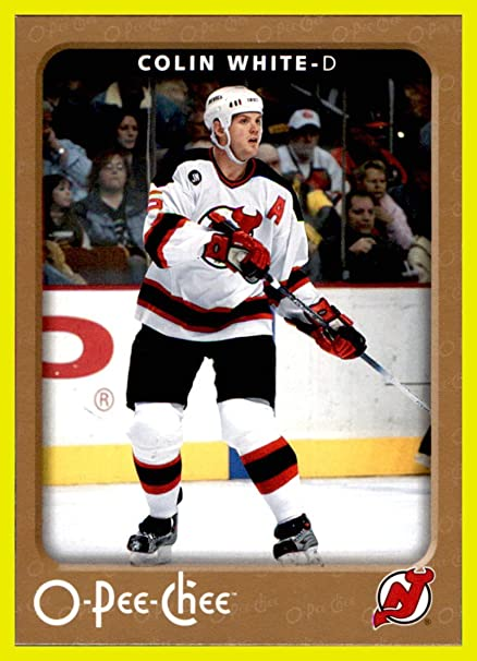 uk availability 59532 1f891 2006-07 OPC O-Pee-Chee #296 Colin White NEW JERSEY DEVILS at ...