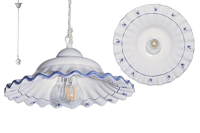 Plafoniere Industriali Diametro 30 : Vanni lampadari lampada a aospensione piatto onda piegato diametro
