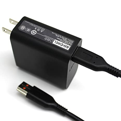 ANGWEL New 40W 20V 2A Charger Adapter for Lenovo Yoga 3 Pro-1370 Yoga 3-1170 Yoga 3-1470 36200563 ,ADL-40WCC ,ADL40WDB W/USB Cable