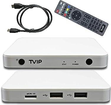 TVIP S-Box v.605 BT IPTV 4K HEVC Android 6.0 Linux Multimedia IP ...