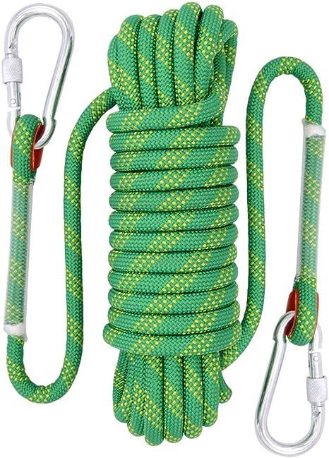 HMLIGHT Escalada de Cuerda, 12 mm al Aire Libre Senderismo ...