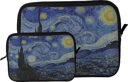La noche estrellada (Van Gogh 1889) funda para tablet/funda Tablet Sleeve (Small) (Approx. 9.5