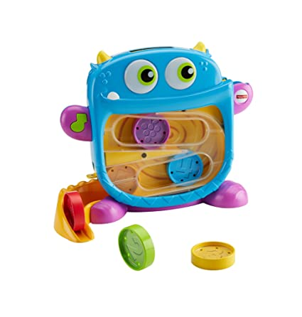 e99c3dd49 Amazon.com: Fisher-Price Hungry Monster Maze: Toys & Games