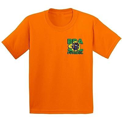 Awkward Styles Brazil Soccer Shirts for Youth Brazil 2018 Brazil Futebol  Gifts 5a8c9f99b