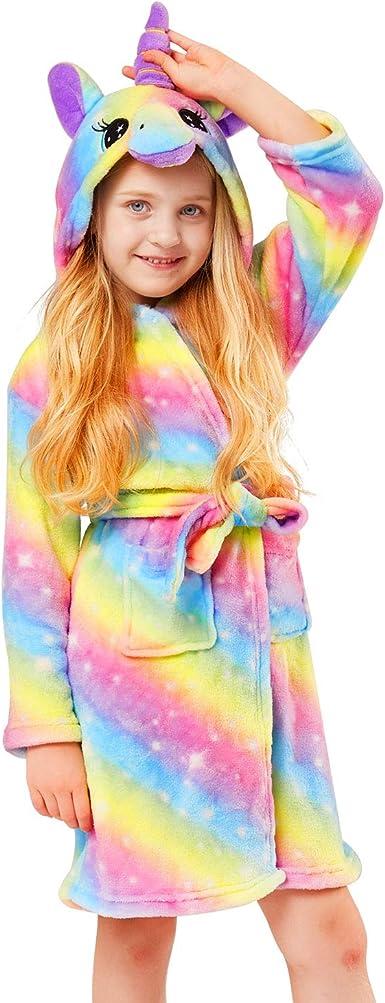 Soft Girl Bathrobe Hoodie Unisex Hooded Gift for Girl and Boys