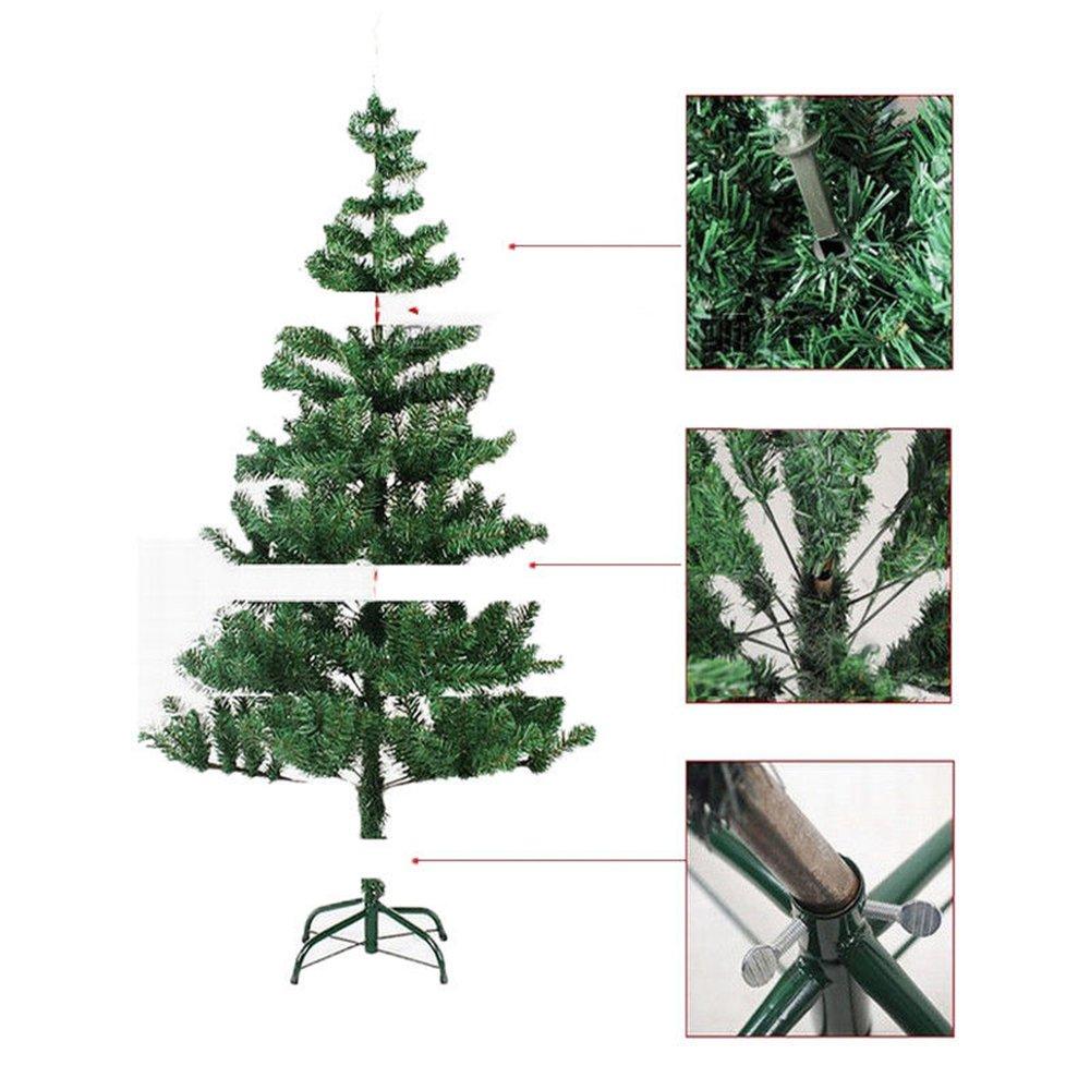 MCTECH 120 cm Árbol de Navidad con soporte - Artificial árboles ...