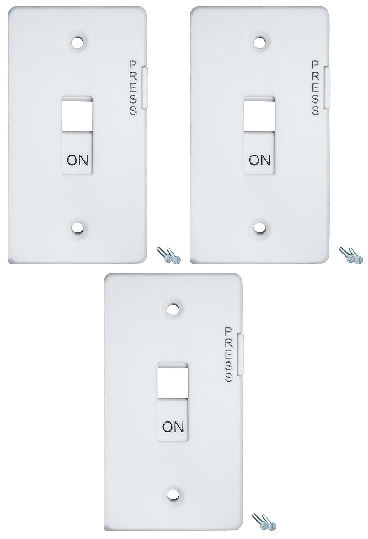 Amazon.com : E-Lock - Light Switch Guard for Locking Switches