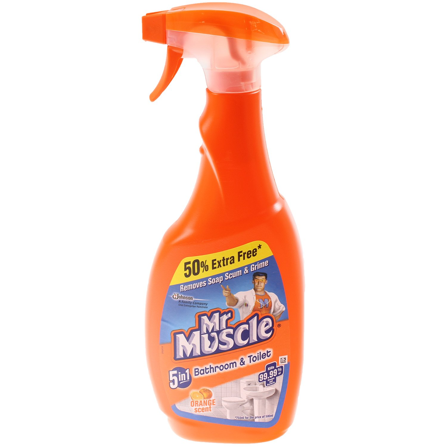 Mr muscle bathroom and toilet cleaner - Mr Muscle Bathroom And Toilet Cleaner 5