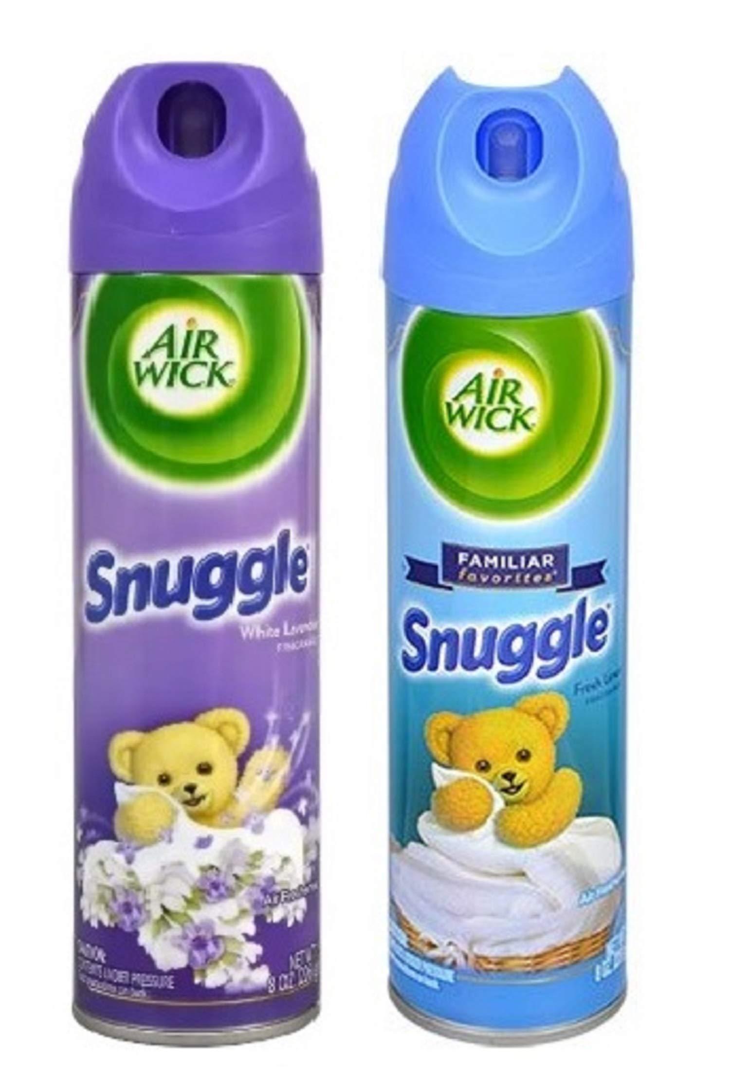 Snuggle 2-Pack Air Freshener Diversion Can Safe Piggy Bank