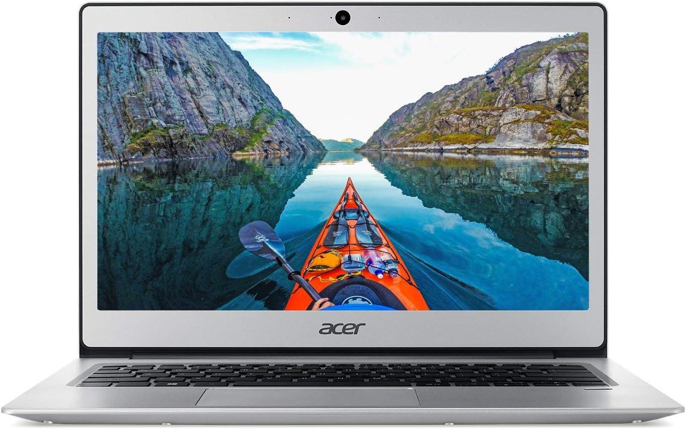 "Acer Lightweight Business UltraBook-13.3"" FHD(1920 x 1080) IPS, Intel Pentium Quad-Core N4200 Processor, 4GB Ram 64GB SSD, Finger Print Reader, HDMI, Win10- (Renewed)"