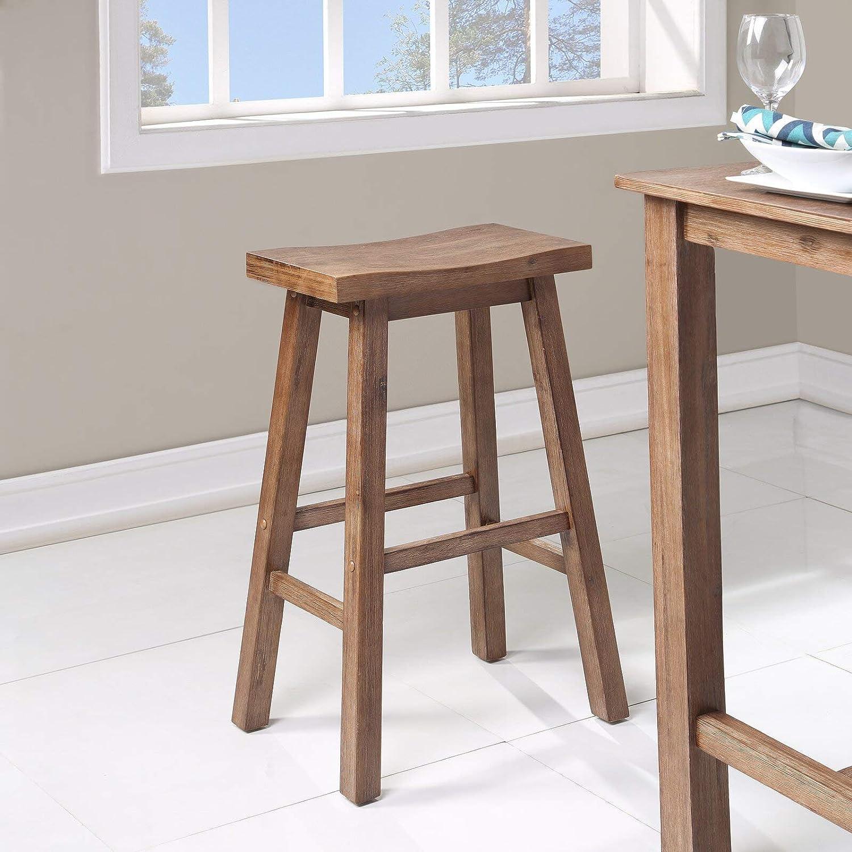 Amazon Com Allister Bar Counter Stool Kitchen Dining
