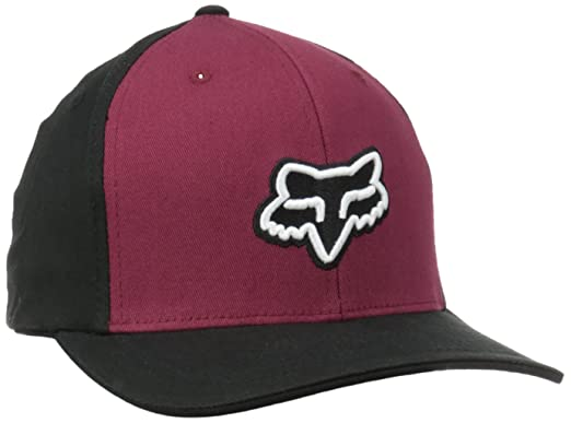Gorra Flexfit Visera Redondeada Fox Enterprise Burgundy (Xxl ...