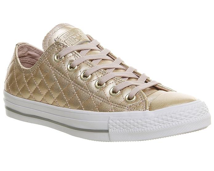 Converse Chucks Chuck Taylor All Star Low Top Sneaker Damen Herren Unisex Gold