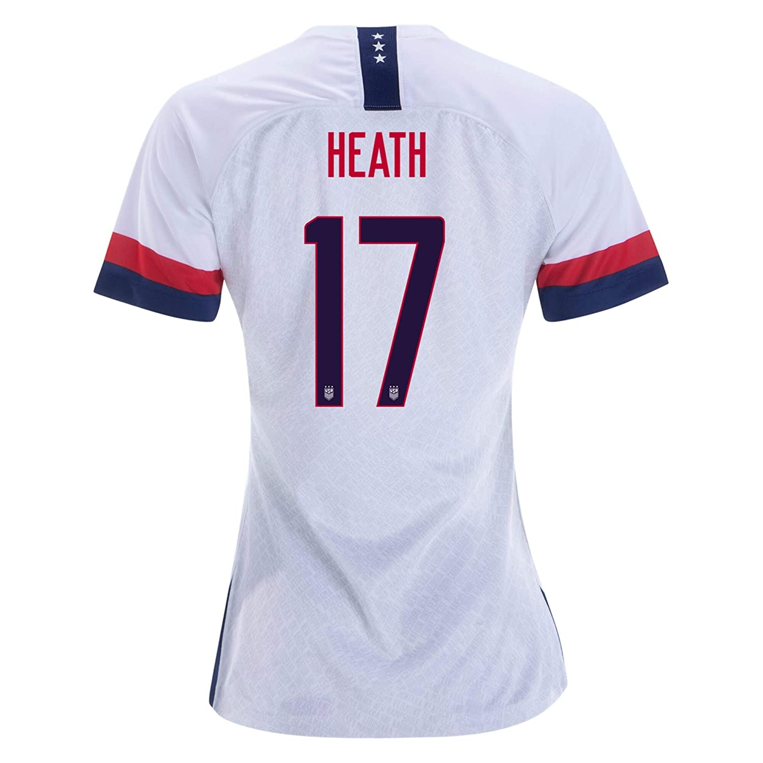 huge selection of 728d9 32906 17 Tobin Heath White Womens 2019 World Cup USA White Soccer ...