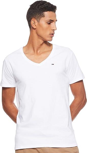 TALLA M. Tommy Hilfiger Original Jersey Camiseta para Hombre