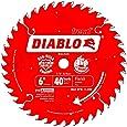 Freud D0640X Diablo 6-Inch 40 Tooth ATB Trim Saw Blade with 1/2-Inch Arbor
