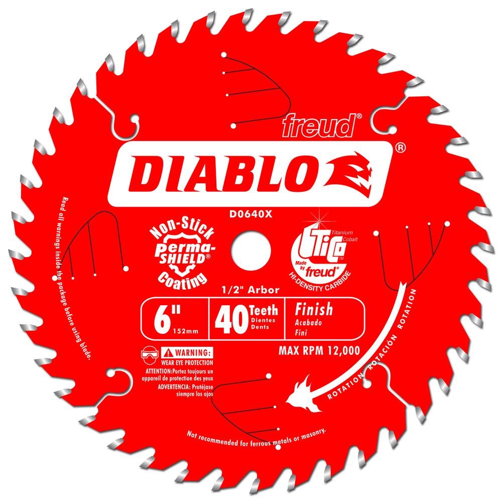 Disco Sierra Diablo Por Freud D0640 Ø152 40d E12 Acabado