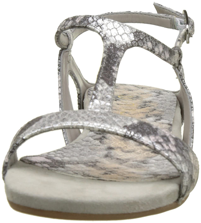 Unisa Damen Alace_VPL Peeptoe Sandalen Silber (Silver) (Silver) (Silver) 0146b7