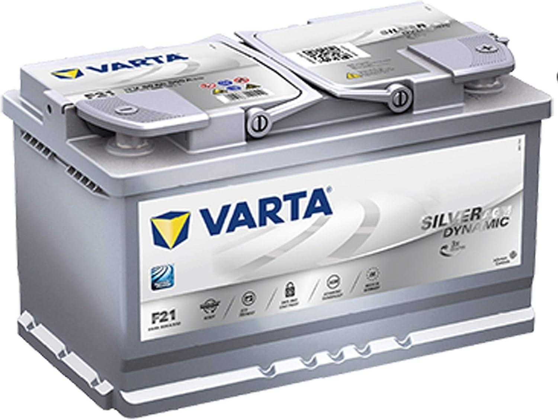 Bater/ía de coche Start Stop Plus AGM,/D21/80/Ah Varta