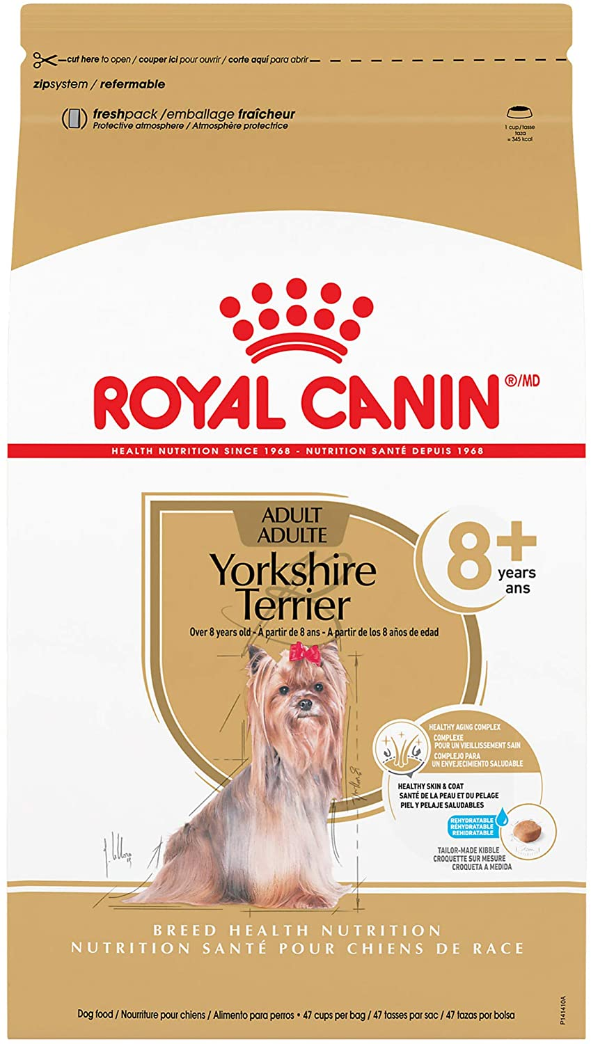 Royal Canin Yorkshire Terrier Adult 8+ Dry Dog Food for Aging Dogs
