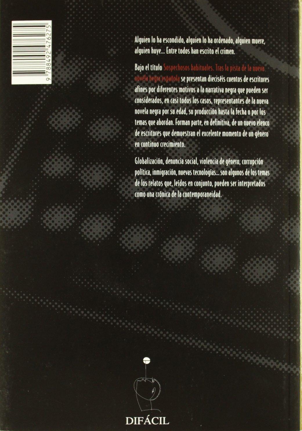Sospechosos habituales: Amazon.es: Javier Sánchez Zapatero, Àlex Martín Escribà: Libros
