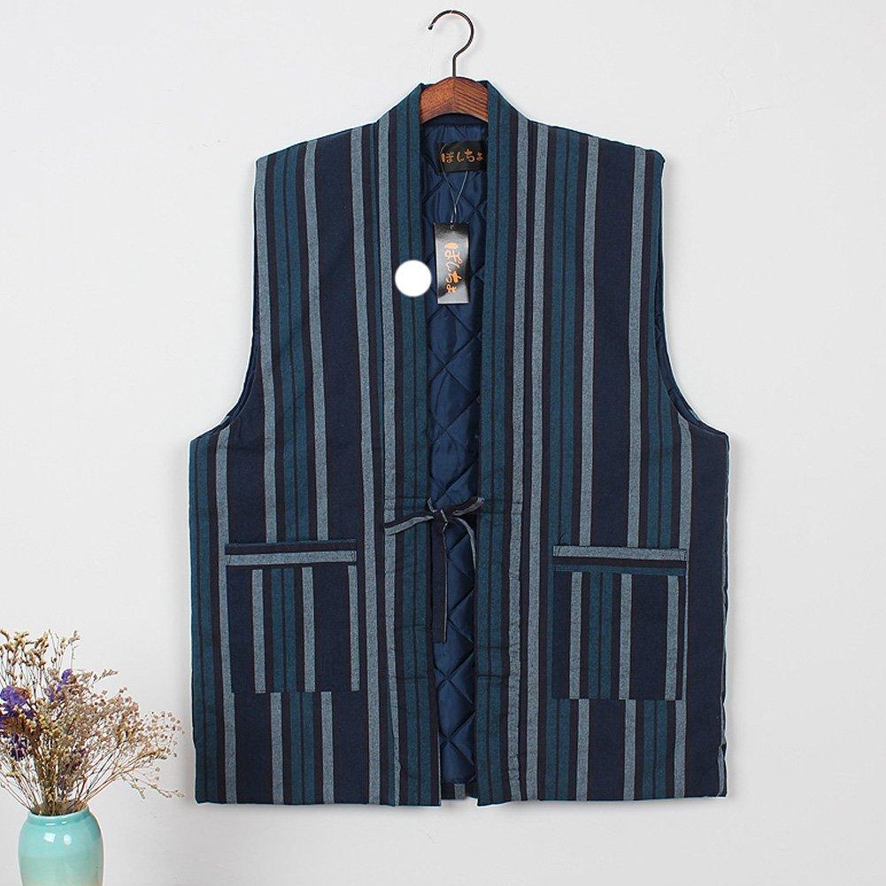 Chaleco de Kimono japonés Unisex Chaleco de Invierno Espesar Ropa de casa # 02: Amazon.es: Ropa y accesorios