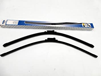 Original Parte delantera 1850545 parabrisas limpiaparabrisas limpiaparabrisas, para Ford Kuga II desde 12/2012: Amazon.es: Coche y moto