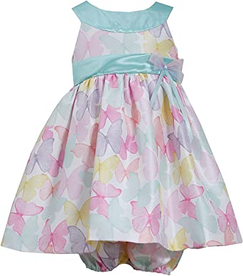 2016 Summer  Girl Dresses Clothing Floral Butterfly Print Dressy Girls Clothes
