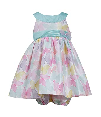 78b4a07e1c28 Amazon.com  Bonnie Jean Baby Girls Butterfly Spring Easter Dress ...