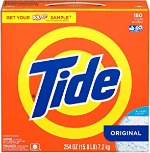 Tide Ultra Powder Original Scent: 180 Loads