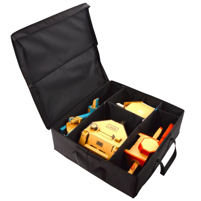 Organizer for Nintendo Labo Variety Kit,24'' Original Protective Heavy Duty Organizer Storage Case for Nintendo Labo