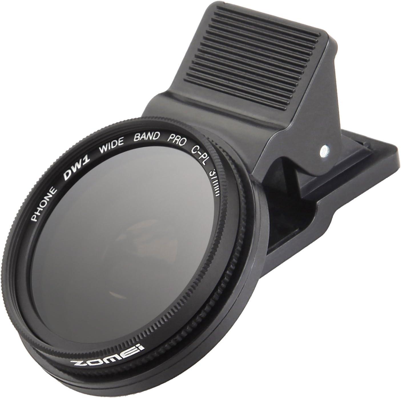 Lente Para Celular Filtro Cpl Zomei 37mm