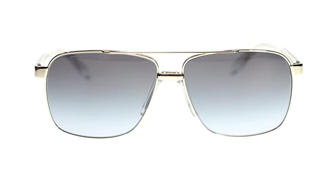 f4e6e20ce4 Image Unavailable. Image not available for. Colour  Versace Mens Sunglasses  VE2174 12528G Pale Gold Grey ...
