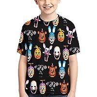 Maichenxuan FNAF - Camiseta para niño con dibujos animados para niños y niñas