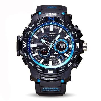 87e91d4337f6 Relojes Digitales para Hombre De Los Deportes - Relojes De Deporte  Impermeables Al Aire Libre con