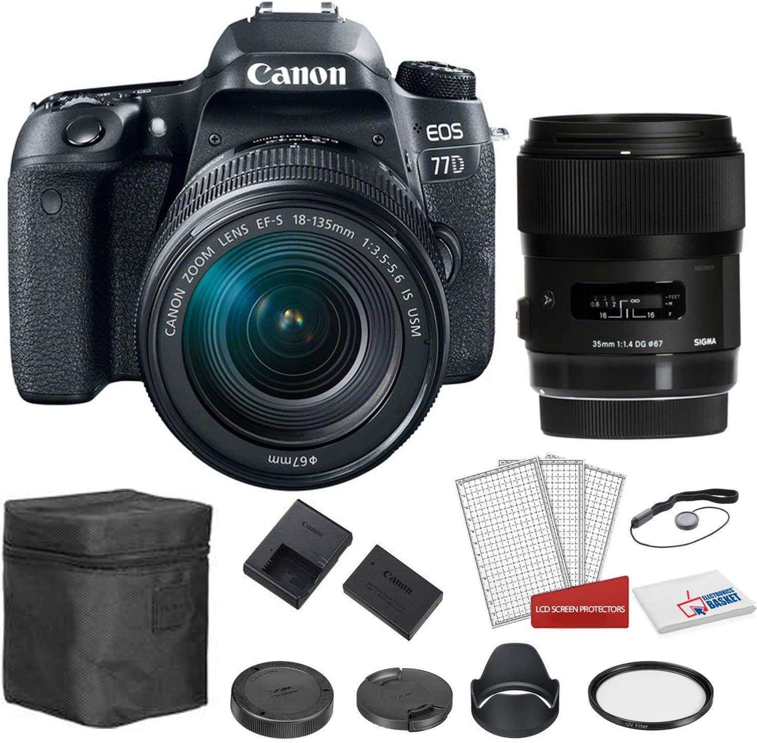 Sigma F1.4 DG HSM - Lente para Canon EF (35 mm, con Objetivo Canon ...