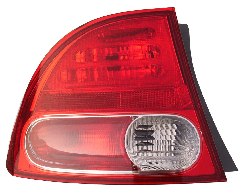Eagle Eyes HD471-U000L Honda Driver Side Rear Lamp HO2800166V
