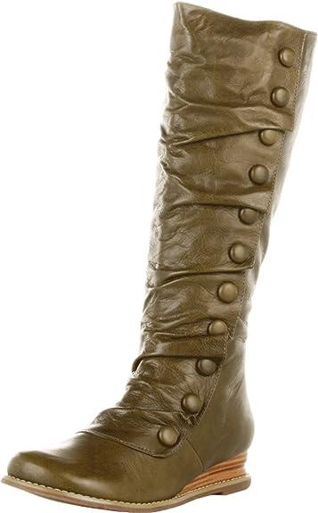 ff9fa629eb2d7 Amazon.com   Miz Mooz Women's Bloom Knee-High Extended Calf Boot ...