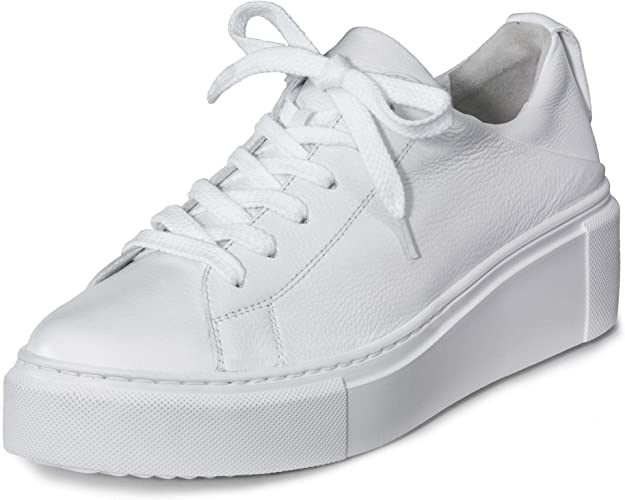 Paul Green Damen Sneaker Weiss