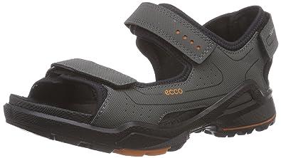 2a656a731e0b Ecco Biom Sandal, Jungen Sandalen, Grau (Dark SHADOW BLACK56357), 32