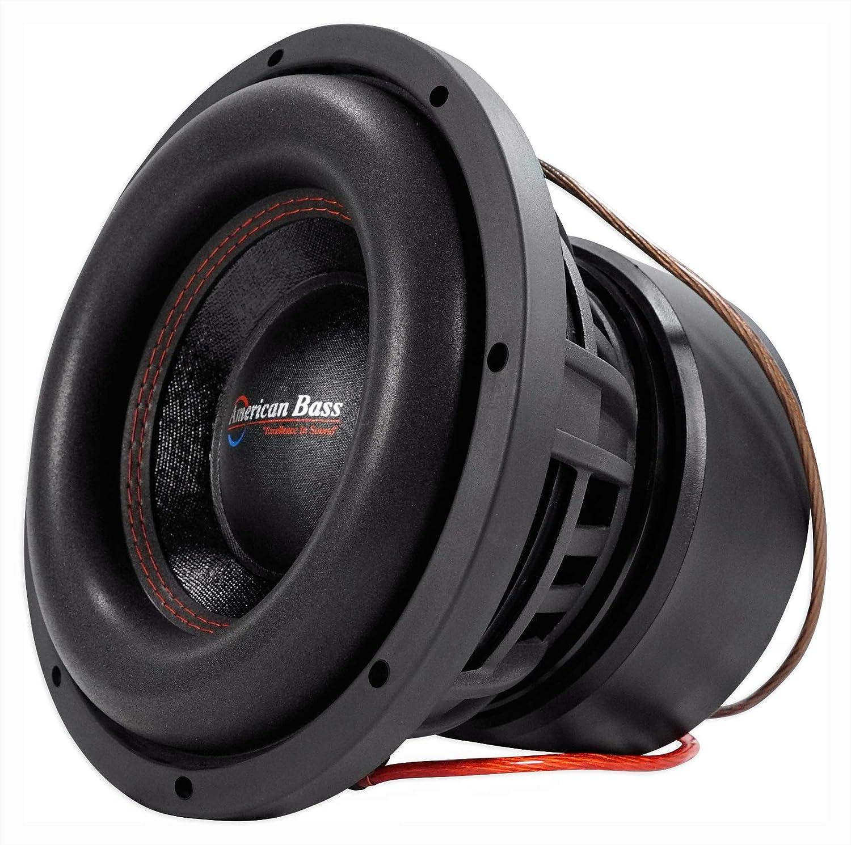 New American Bass Xfl1022 10 2000 Watt Subwoofer Car Audio Sub 10 ...
