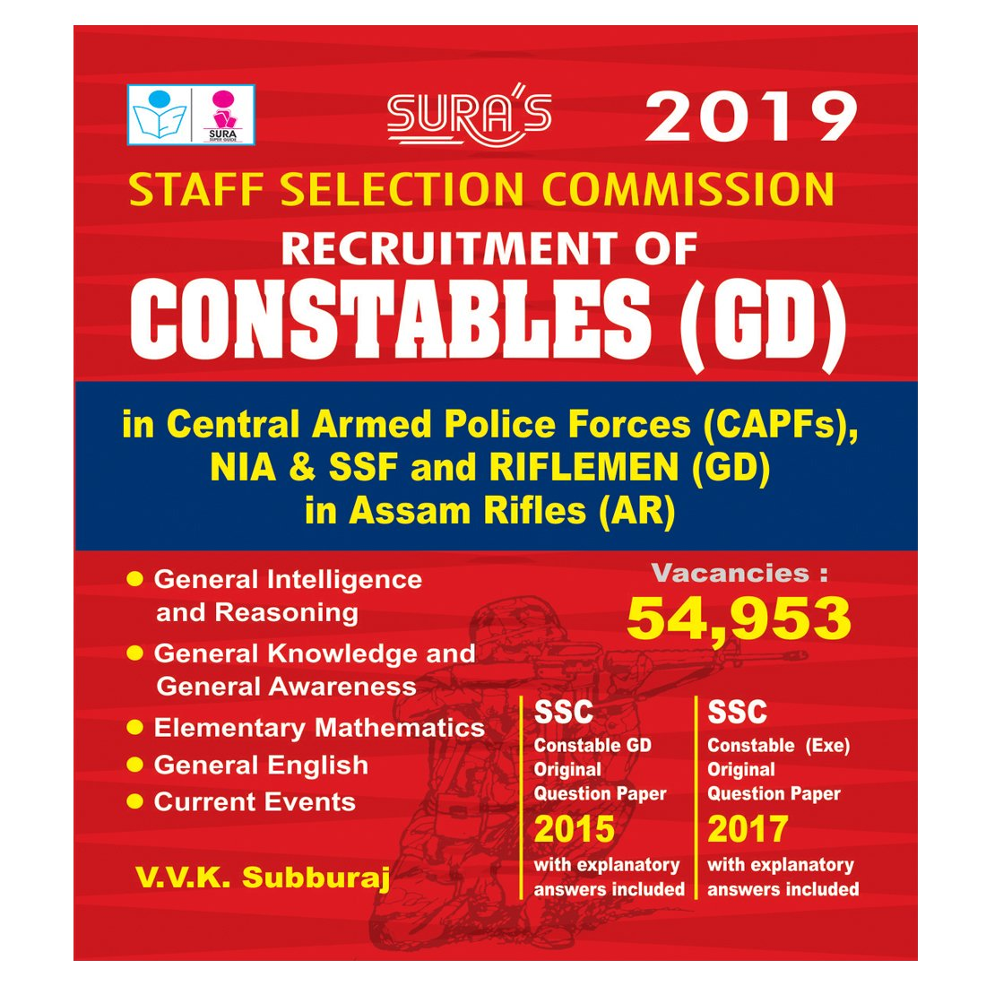 Staff Selection Commission Exam Book
