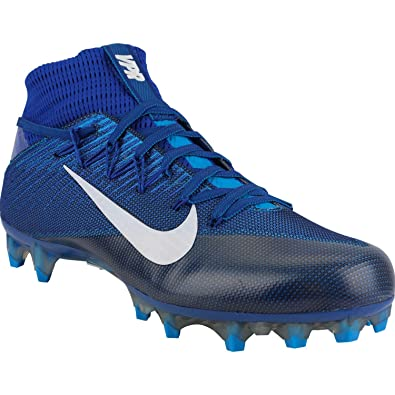 best sneakers b33e9 164c4 Amazon.com   Nike Zoom Vapor Carbon Untouchable Football Cleats Shoes Blue  White Mens Size 13   Football