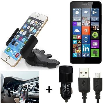 K-S-Trade® Top Set para Microsoft Lumia 640 LTE Soporte Ranura de ...