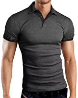 Grin&Bear coupe slim contrast Polo Tee Shirt, GB160