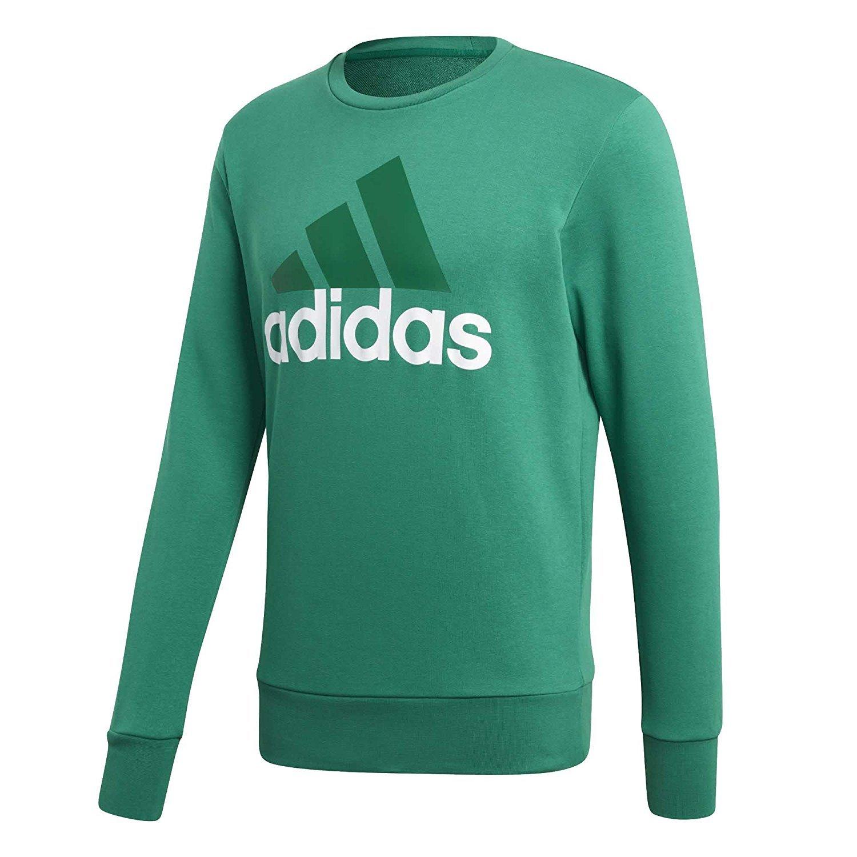 adidas Herren Essentials Big Logo Crew Sweatshirt